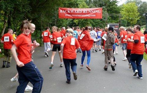 Back running