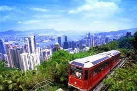Peak Tram Ride
