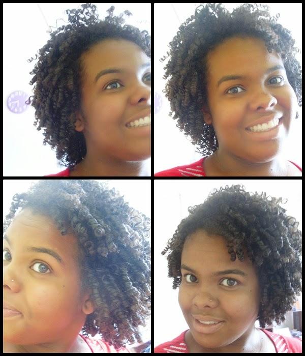 definição para cabelos cacheados