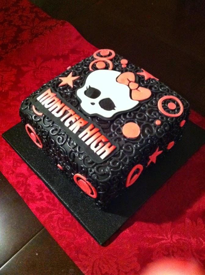 Tortas Decoradas de Monster High