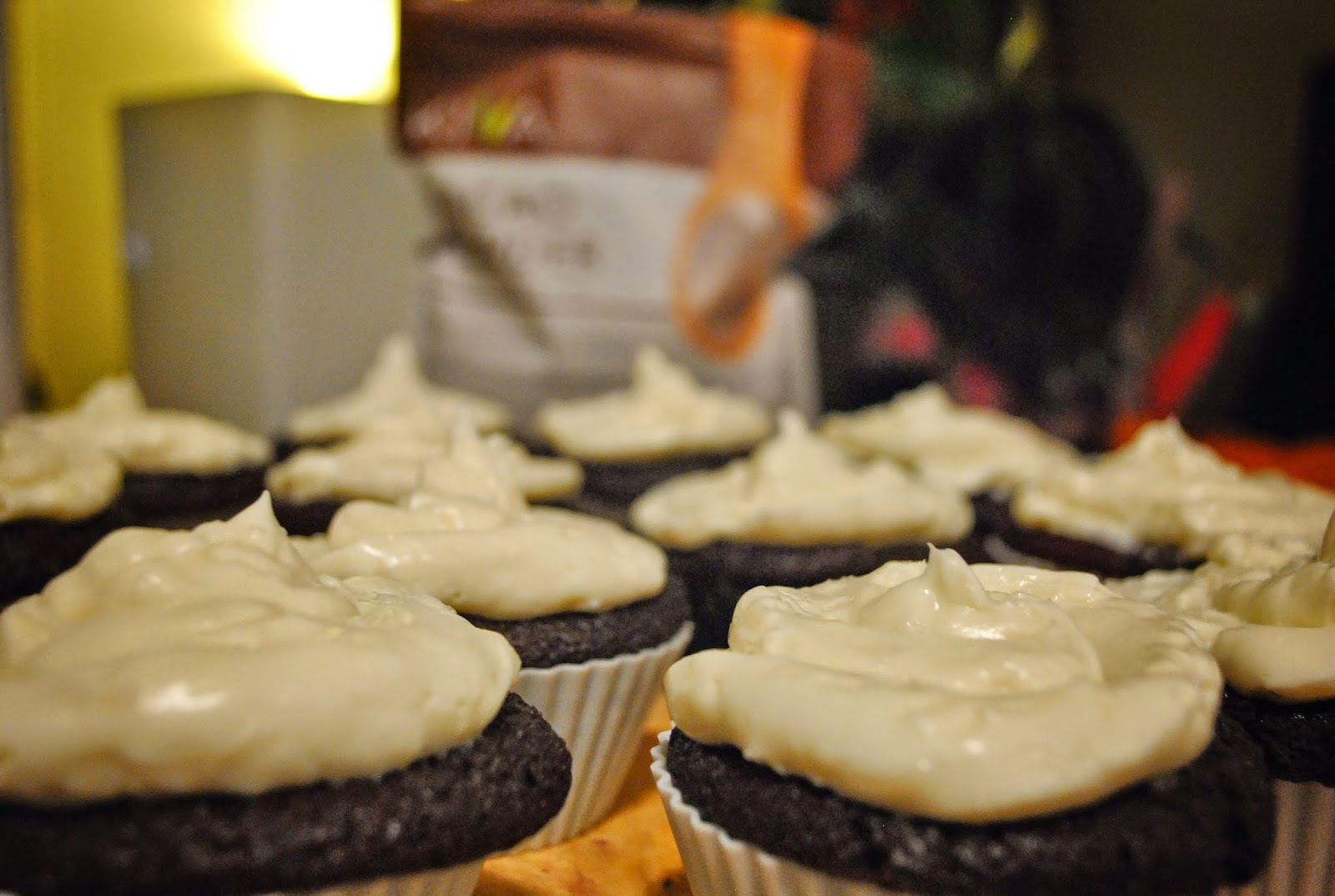 Super Moist & Delicious GLUTEN FREE Chocolate Cupcakes with Decadent Coconut Icing Recipe