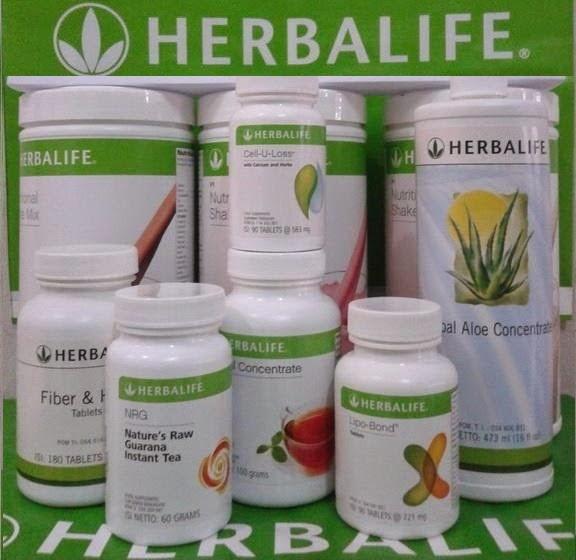Daftar Harga Jual Paket Diet Produk Herbalife Terbaru