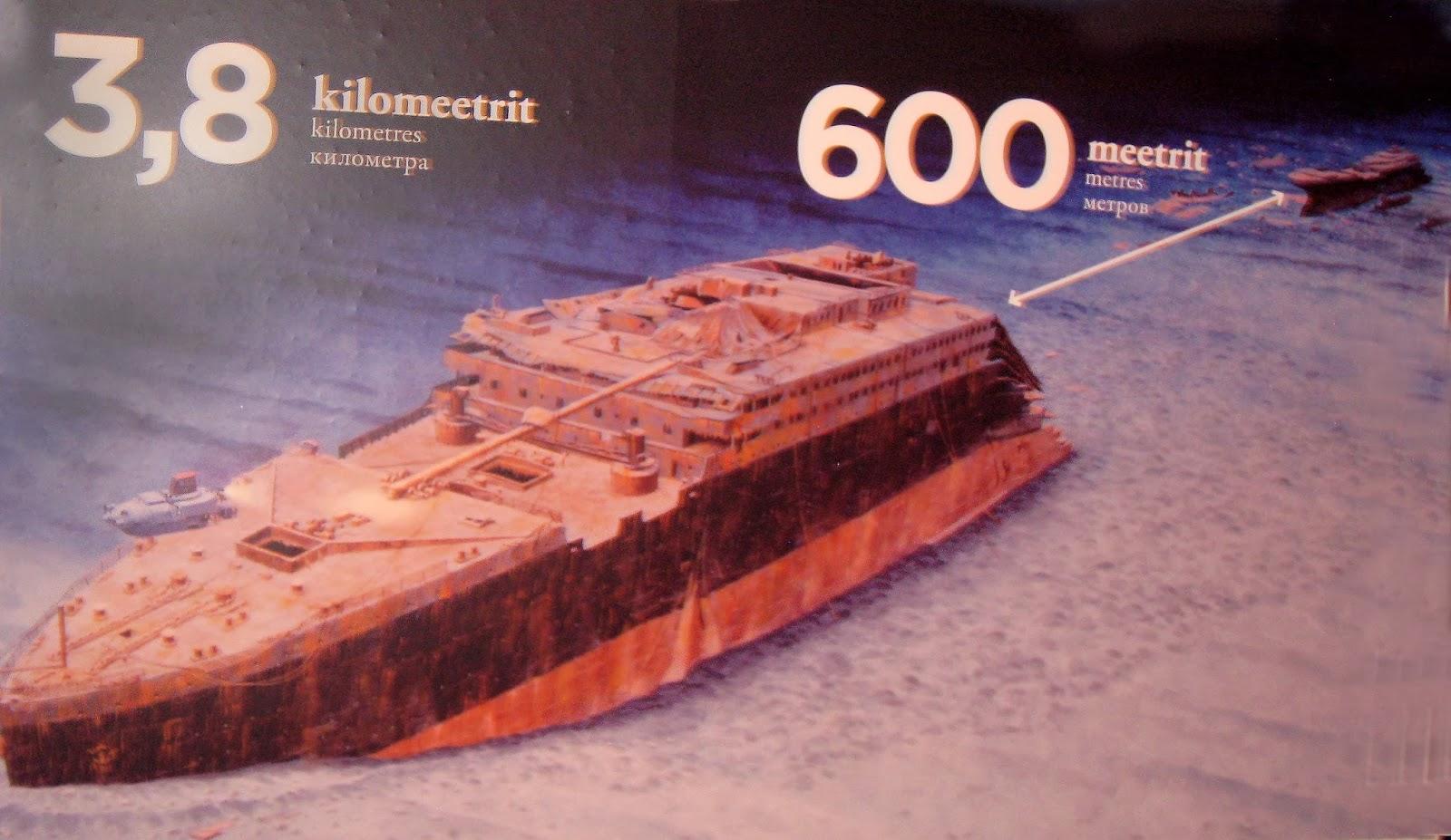 Выставка в Таллинне.Титаник.Истории, находки, легенды