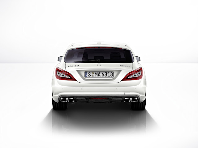 задний вид Mercedes-Benz CLS 63 AMG Shooting Brake 2013