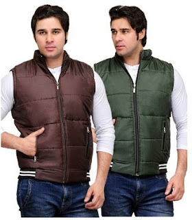 TSX Sleeveless Jacket (Pack of 2) worth Rs.1919 for Rs.777 Only