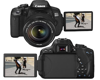 Canon EOS 650D, new digital SLR camera, full HD camera