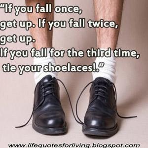 Life Quote Shoe Laces