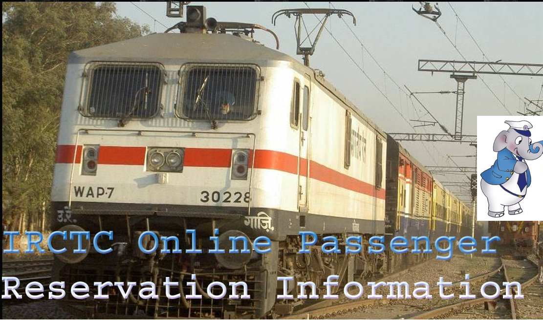 Logo - IRCTC Online Reservation Information