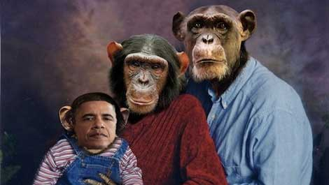 obama_racist_chimps #TinyTrump Memes Have Spread Across The Internet, Prepare To Laugh (IMAGES) Donald Trump Media Satire The Internet Top Stories