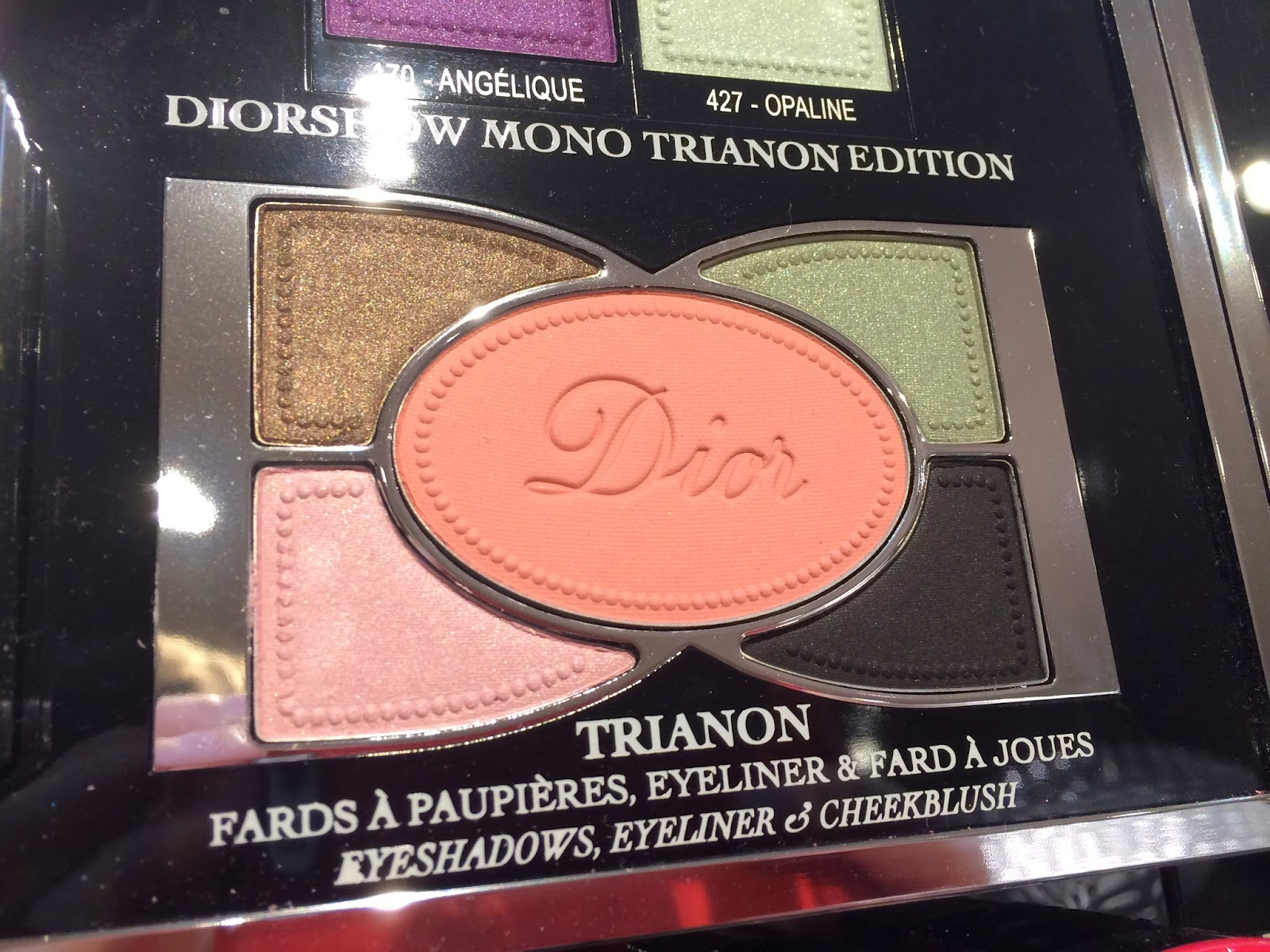 Dior makeup Trianon