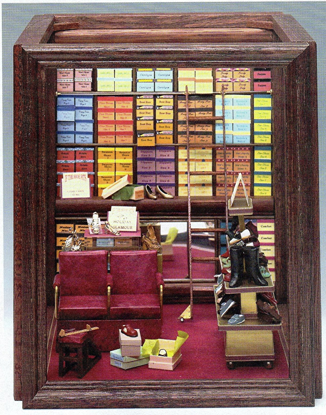 DYI DOLLHOUSE MINIATURES: MAKING ROOMS & DISPLAY BOXES FROM PICTURE ...