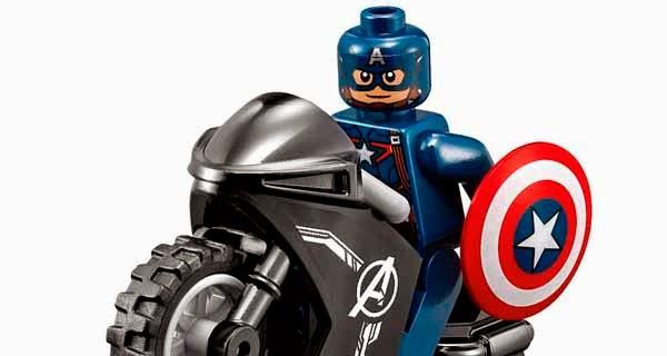 Lego Capitán América Era de Ultrón