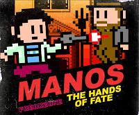 Manos, video game, Freakzone, Torgo, cover art, 8-bit, retro