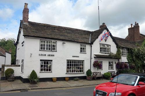 Legh Arms Prestbury, Cheshire