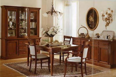 Desain Ruang Makan Antik Classic Ala Amerika