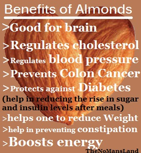 health benefits of almond nut