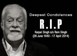 Karpal Singh Maut Kemalangan
