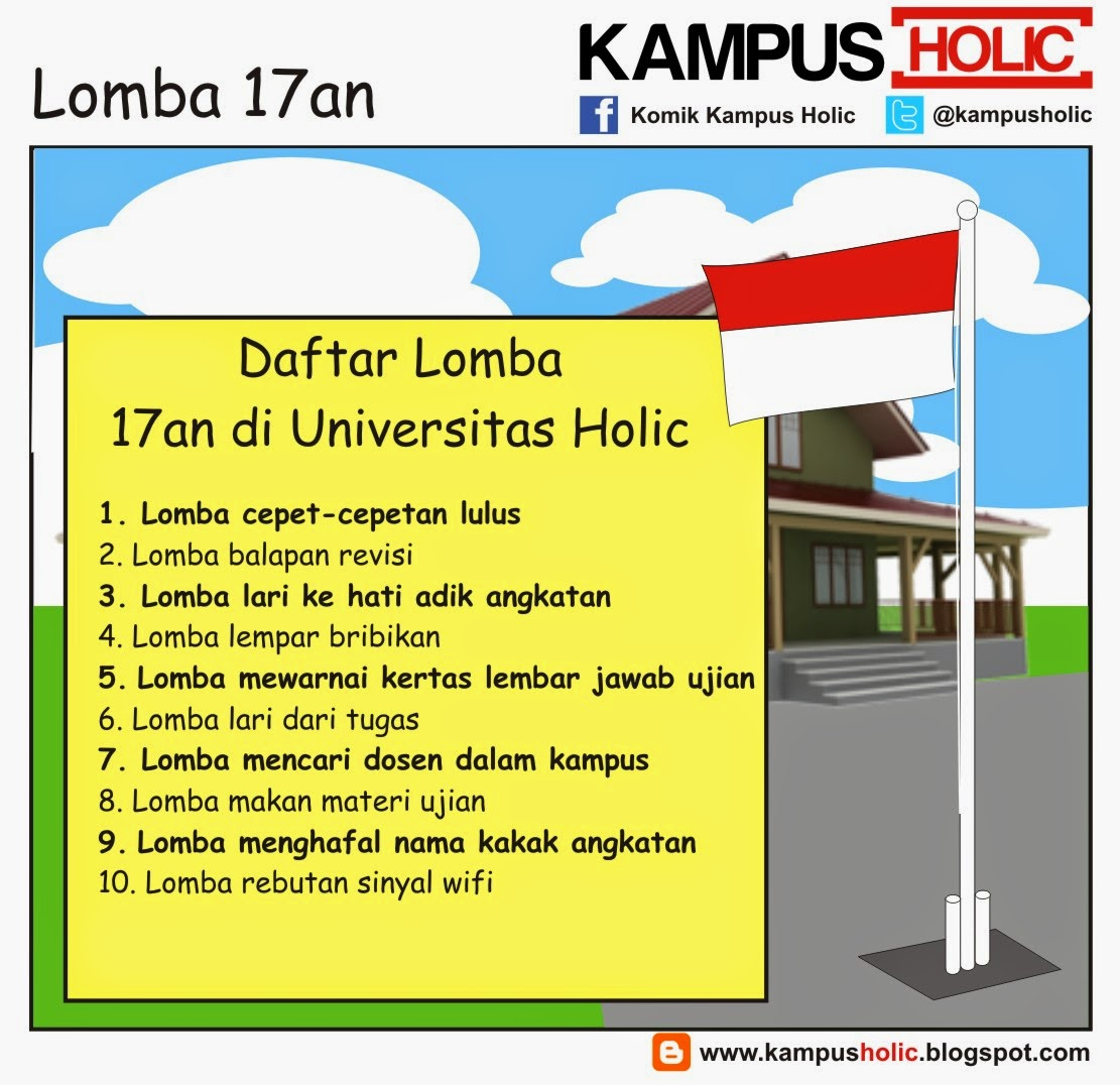#614 Lomba 17an