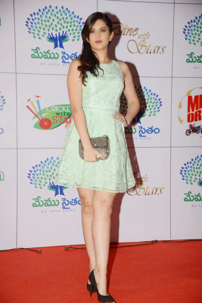 Deeksha Seth Spicy Legs Show Photo