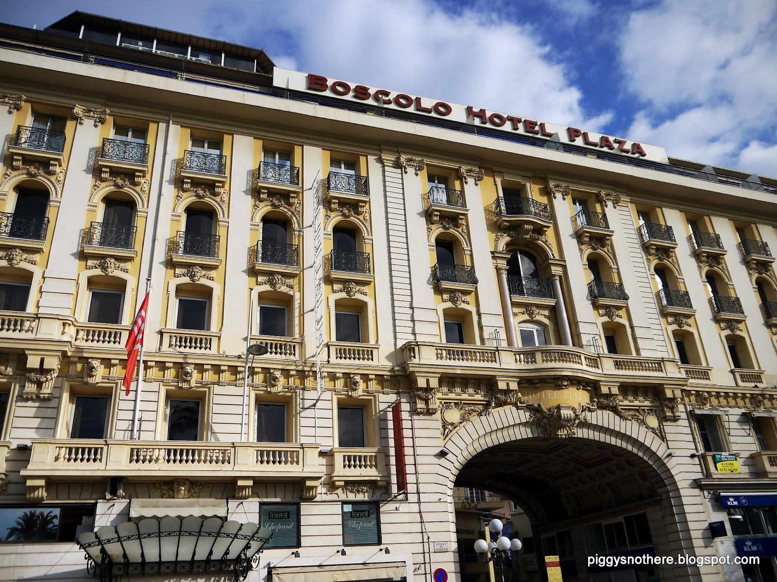 Misterpiggy goes to france trafalgar hotel boscolo plaza for Plaza hotel