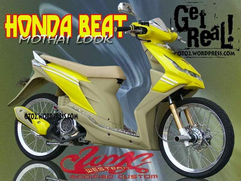 Gambar Modifikasi Motor Honda Beat 2012