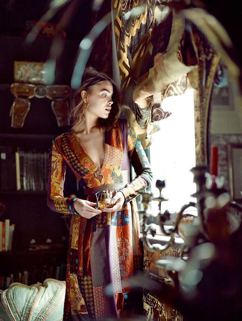 bambi northwood-blyth,baroque,bohème,mode,dreaming of stevie,elle uk,folk,marcin tyszka
