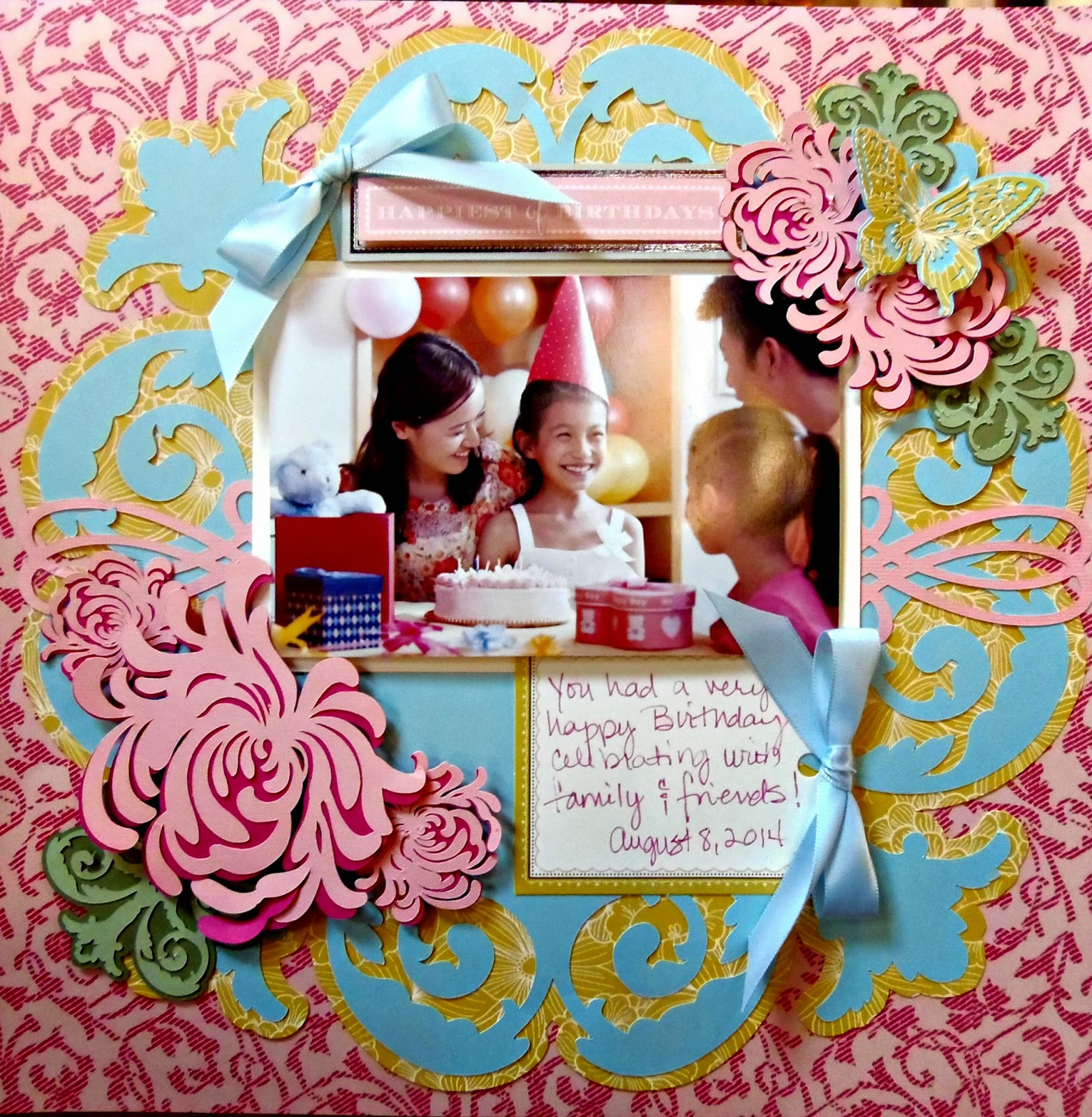 Juliet scrapbook ideas - My Pieces Of Time