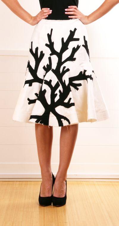 Charles chang lima cute skirt fashion trend