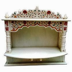"Decorative Marble Temple by Anand Marble Handicrafts - Promotional Campaign by ""Kind Attention""."