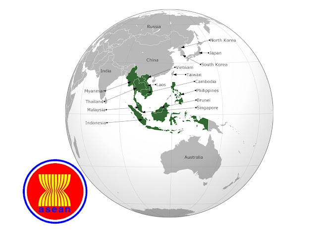 Supranational ASEAN is Super Folly for Southeast Asia ASEANmap 1