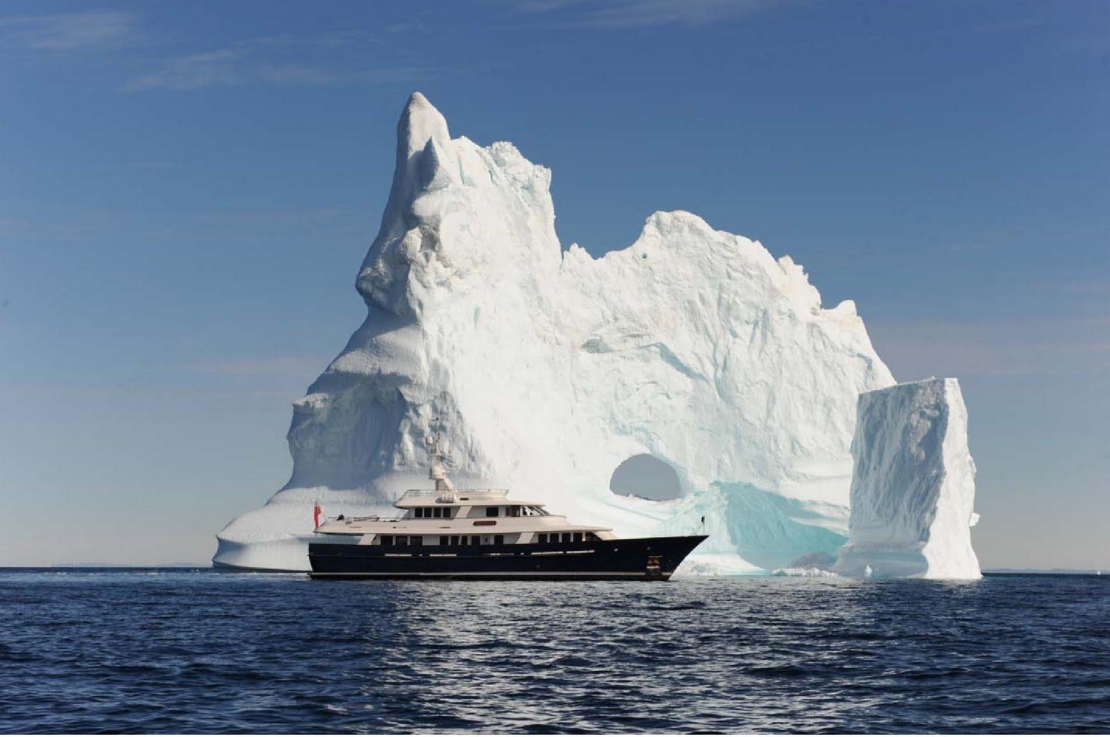 Megayacht Global Arcadia Transits The Northwest Passage