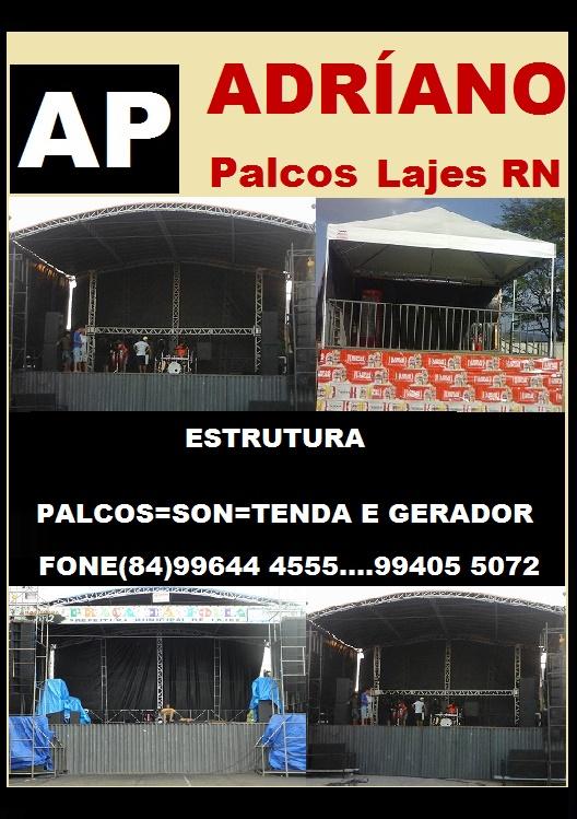 PENSOU EM PALCOS ADRIANO PALCOS LAJES RN