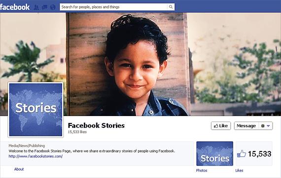 Facebook a lansat Facebook Stories, un site menit sa promoveze reteaua sociala