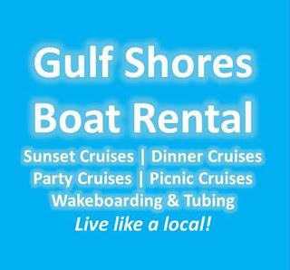 gulf shores boat rental, logo, image