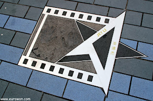 Estrella de Jet Li en la Avenida de las Estrellas de Hong Kong