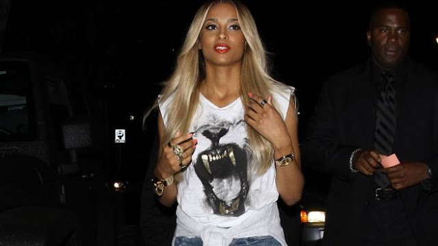 ARTS AND ENTERTAINMENT, Celebrity, Gossip, Latest Celebrity Gossip, Ciara, served, with, lawsuit, on, stage