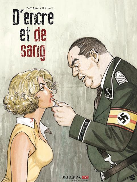D'encre et de sang.-.2 tomes + HD (Série finie) Gihef-Renaud