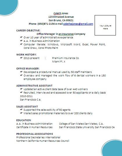 resume example resume job resume how to do a resume how i - How To Make Simple Resume For A Job