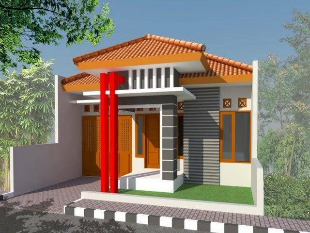 Desain Rumah Unik Minimalis 1 Lantai
