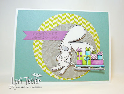 Bringing You the Warmest of Wishes-designed by Lori Tecler-Inking Aloud-stamps from The Cat's Pajamas
