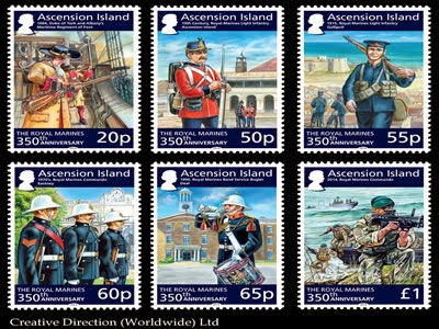 Ascension Island: 350th Anniversary of the Royal Marines