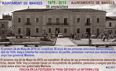 ELECCIONES LOCALES 36 AÑOS, DE 1979 A 2015