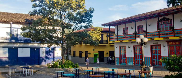 El Jardín - Antioquia, Colombia,  una obra de arte viviente. Foto tomada de El Tiempo de Colombia.