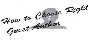 How to Choose Right Guest Author