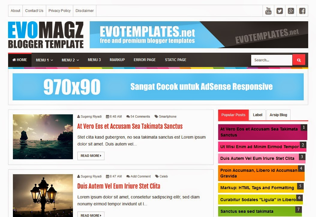 download template blogger seo friendly - Ozil.almanoof.co