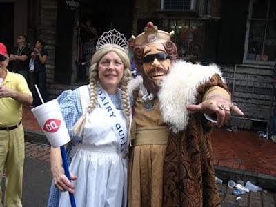 Burger King Dairy Queen disfraz para Halloween