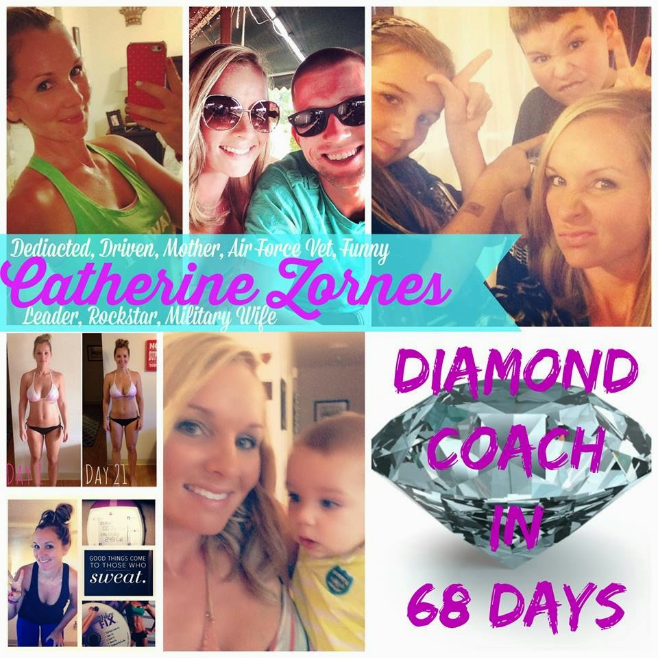 beachbody coach success story, diamond coach, catherine zones, mentor, support