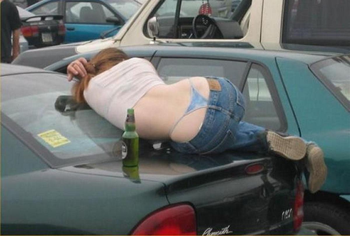 Приколы про девушек пьяных в хлам 5 фотография