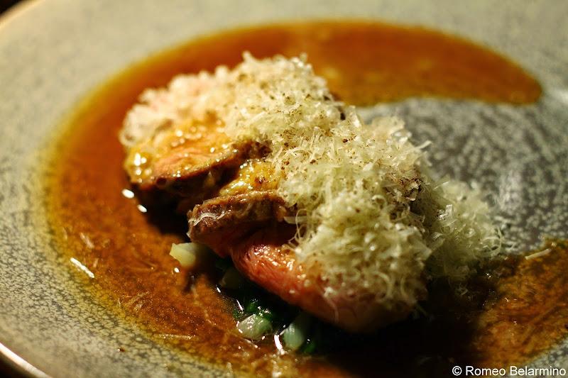 KOKA Lamb, Onion and Caraway Cheese Gothenburg Michelin Star Restaurant