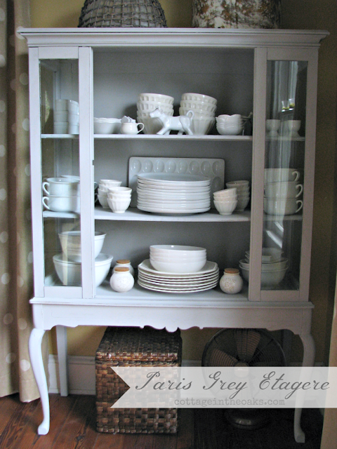 Paris Grey Etagere